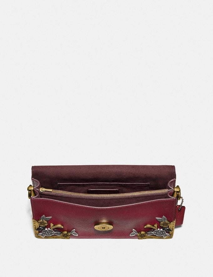 Coach Tabby Shoulder Bag 26 With Tea Rose Brass/Deep Red Women Handbags Shoulder Bags & Hobos Alternate View 2