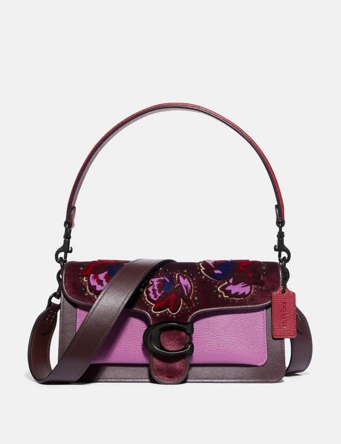Coach Tabby Shoulder Bag 26 V5/Oxblood Multi Limitierte Angebote Damen Taschen