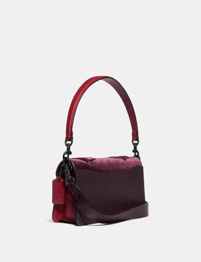 Coach Tabby Shoulder Bag 26 V5/Oxblood Multi Limitierte Angebote Damen Taschen Alternative Ansicht 1
