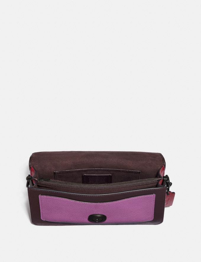 Coach Tabby Shoulder Bag 26 V5/Oxblood Multi Limitierte Angebote Damen Taschen Alternative Ansicht 3