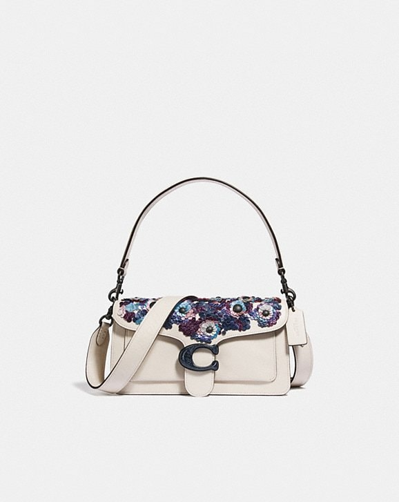 Coach TABBY SHOULDER BAG 26 WITH LEATHER SEQUINS