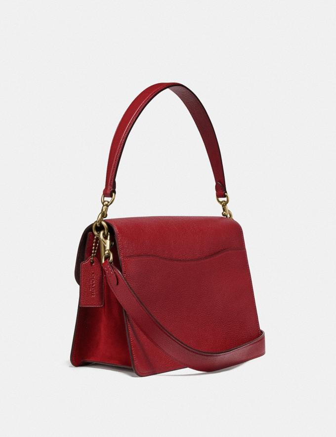 Coach Tabby Shoulder Bag Brass/Deep Red Women Handbags Shoulder Bags & Hobos Alternate View 1