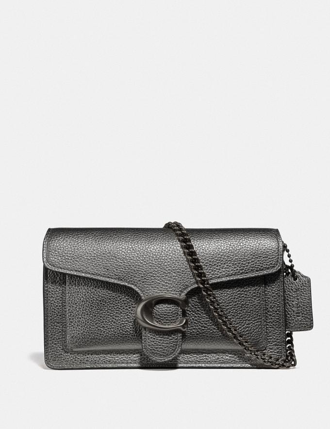 Coach Tabby Chain Crossbody Pewter/Graphite