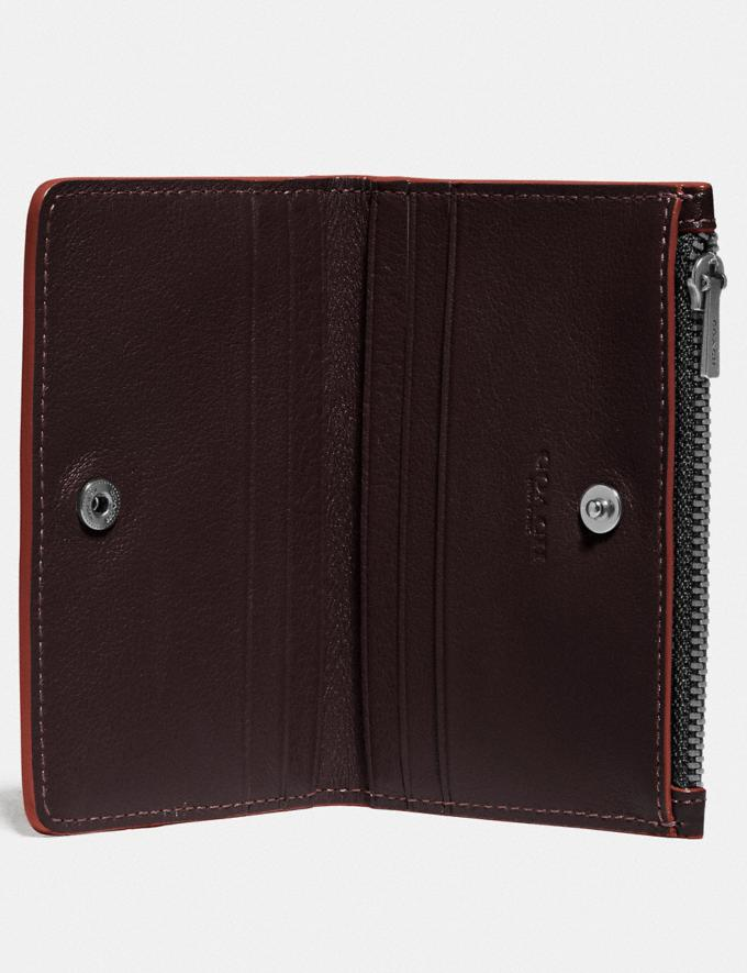 Coach Bifold Zip Card Case Umber/Clay New Men's New Arrivals Wallets Alternate View 1