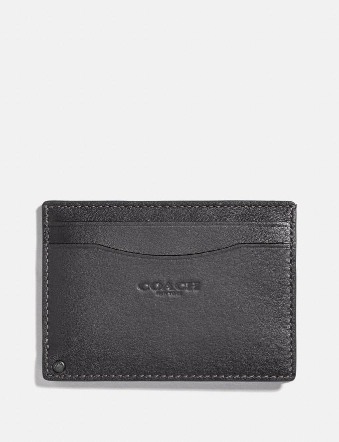 Coach Swivel Card Case Grey/Silver Gifts For Him Under $100