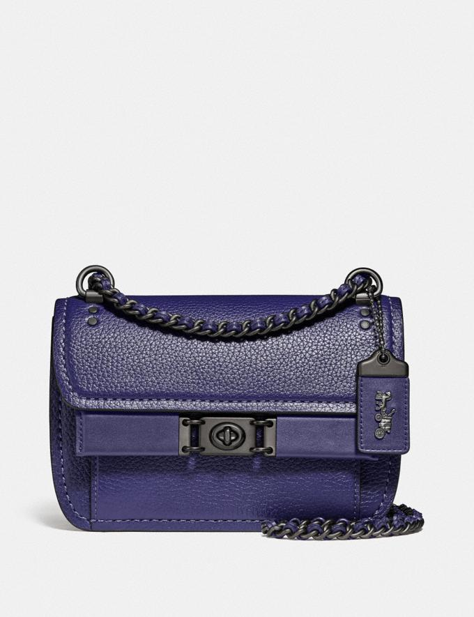 Coach Troupe Crossbody in Colorblock With Snakeskin Detail V5/Cadet Multi Women Bags Crossbody Bags