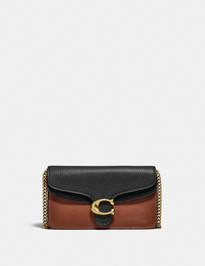 Coach Tabby Crossbody B4/Black Multi New Women's New Arrivals Small Leather Goods