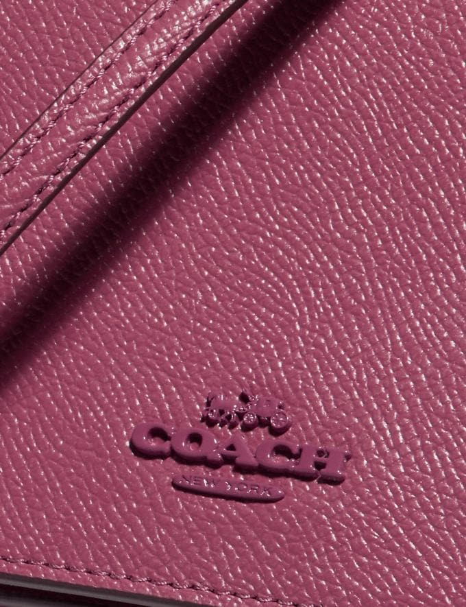 Coach Hayden Foldover Crossbody Clutch B4/Dusty Pink Women Bags Crossbody Bags Alternate View 4