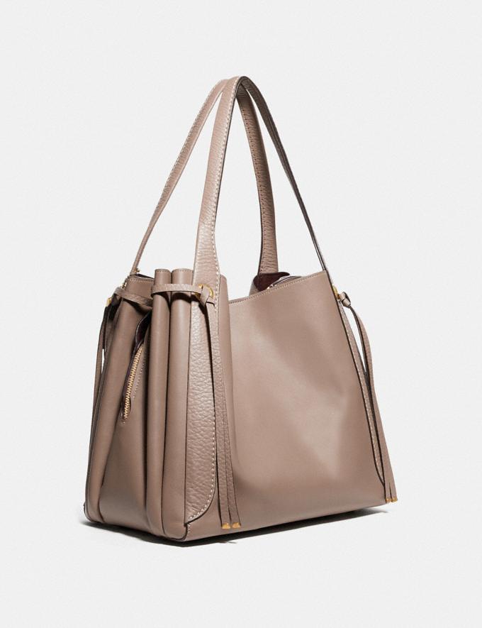 Coach Harmony Hobo Brass/Stone Women Handbags Shoulder Bags & Hobos Alternate View 1