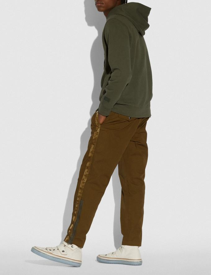 Coach Coach Hoodie Olive Men Ready-to-Wear Tops & Bottoms Alternate View 2