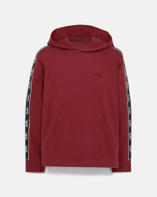HORSE AND CARRIAGE TAPE HOODIE