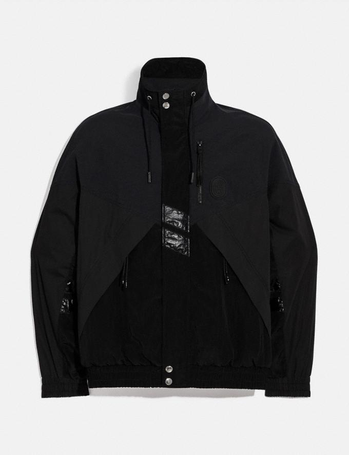 Coach Track Jacket Black Men Ready-to-Wear Coats & Jackets