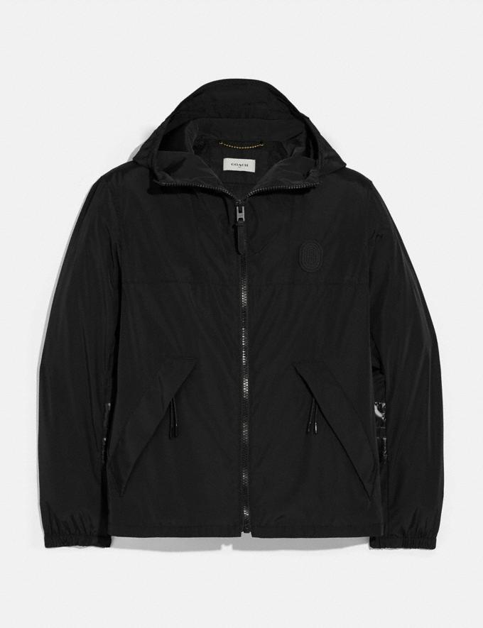Coach Windbreaker Dark Cardinal