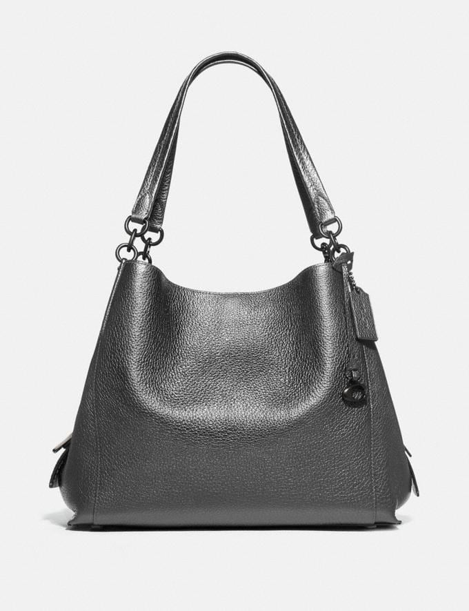 Coach Dalton 31 Pewter/Metallic Graphite Cyber Monday