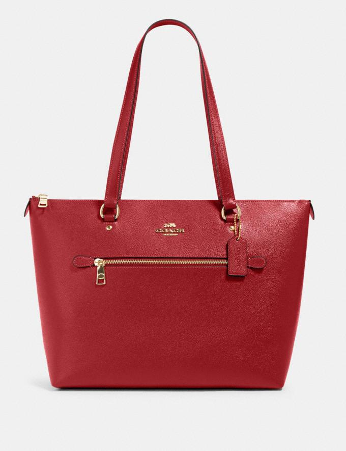 Coach Gallery Tote Im/1941 Red null