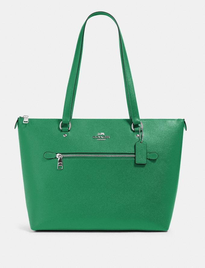 Coach Gallery Tote Sv/Shamrock What's New