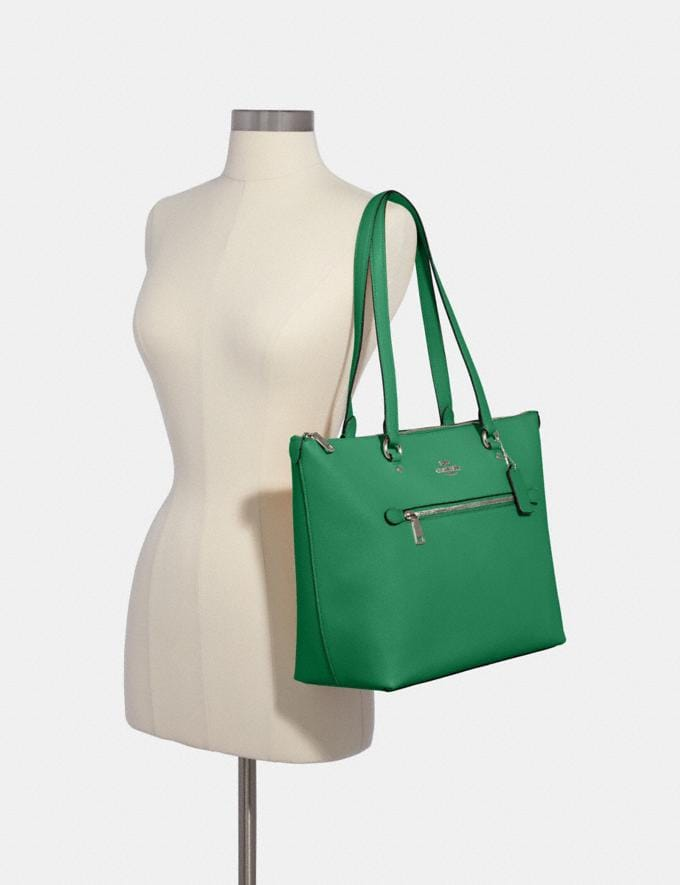 Coach Gallery Tote Sv/Shamrock What's New Alternate View 2