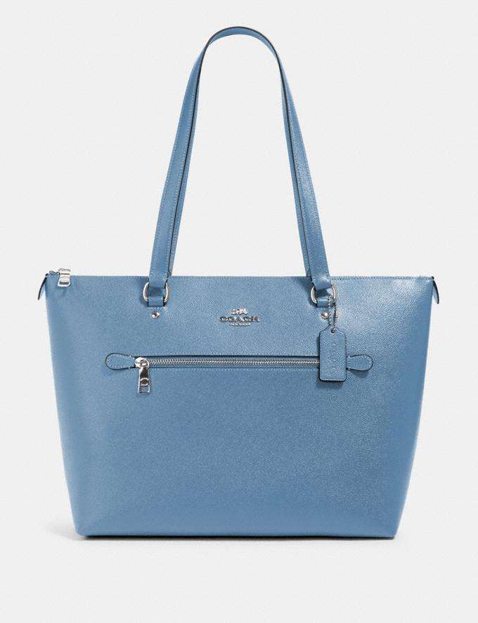Coach Gallery Tote Sv/Slate What's New