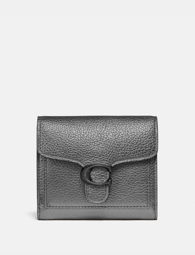 Coach Tabby Small Wallet Gunmetal/Metallic Graphite