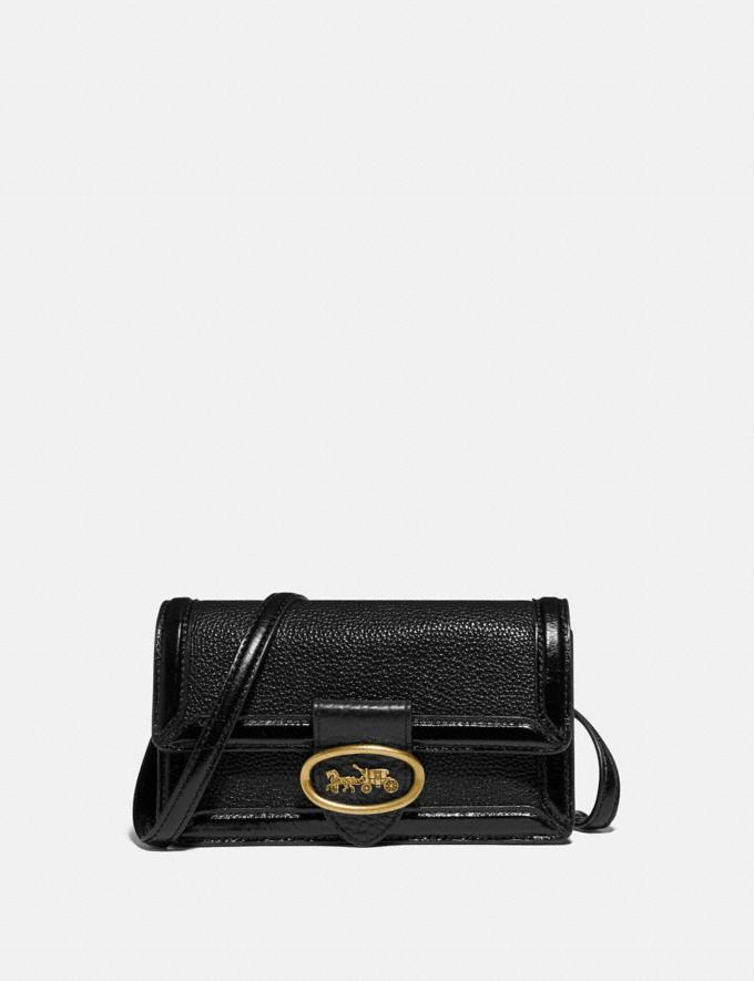 Coach Riley Convertible Belt Bag Brass/Black/Black SALE 30% off Select Full-Price Styles Women's