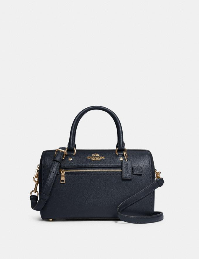Coach Rowan Satchel Im/Midnight