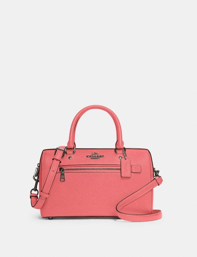 Coach Rowan Satchel Qb/Pink Lemonade Deals