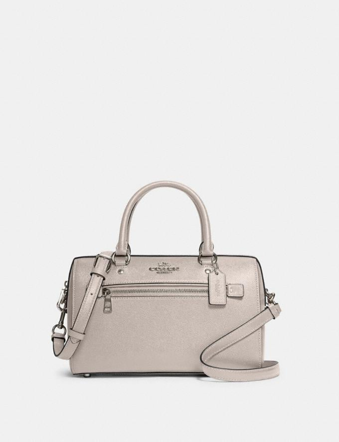 Coach Rowan Satchel Sv/Grey Birch What's New
