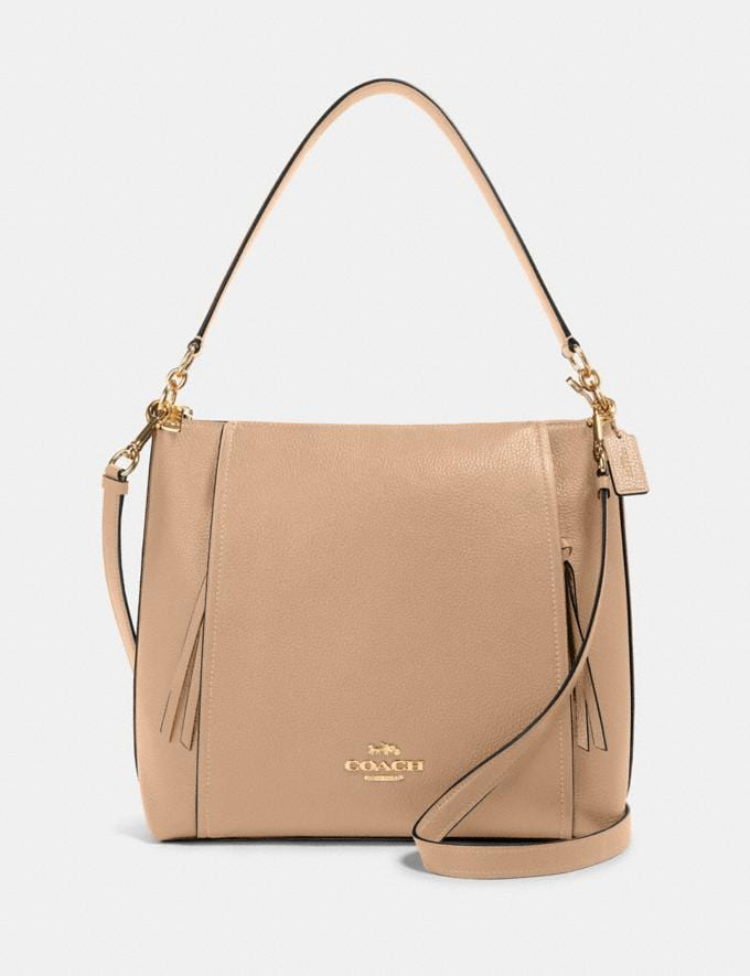 Coach Marlon Hobo Im/Taupe What's New