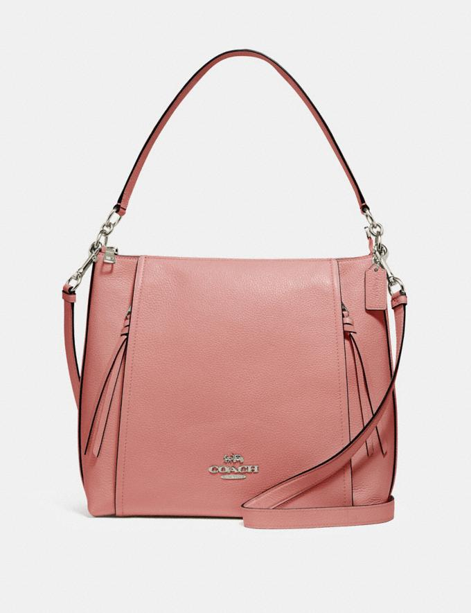 Coach Marlon Hobo Sv/Light Blush What's New
