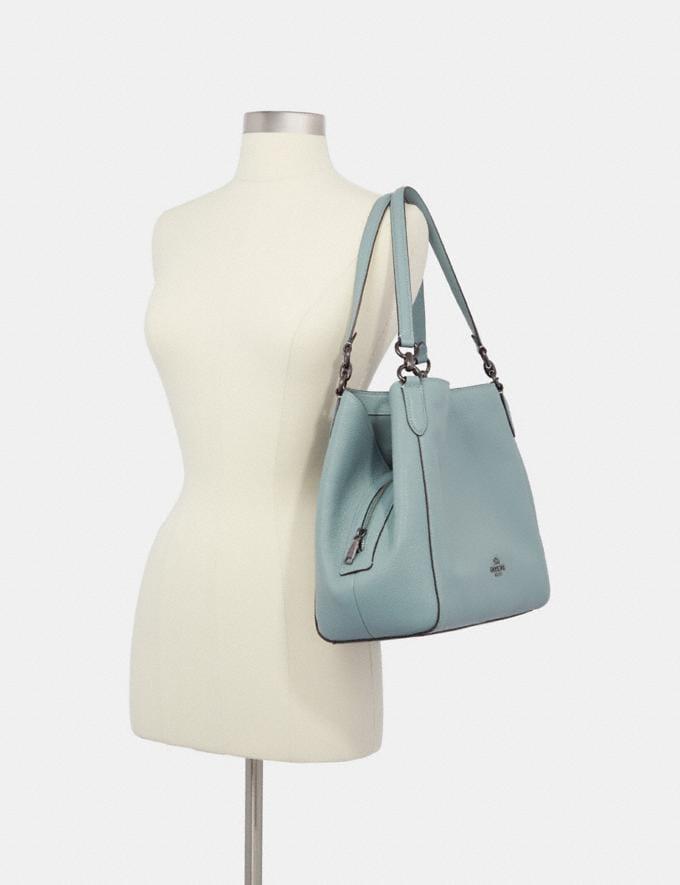 Coach Hallie Shoulder Bag Im/Blossom Bags Bags Shoulder Bags Alternate View 2
