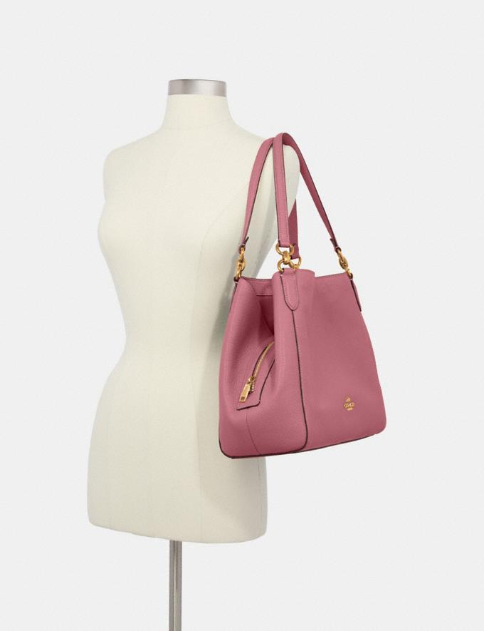 Coach Hallie Shoulder Bag Im/Rose  Alternate View 2