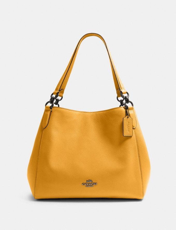 Coach Hallie Shoulder Bag Qb/Honey What's New