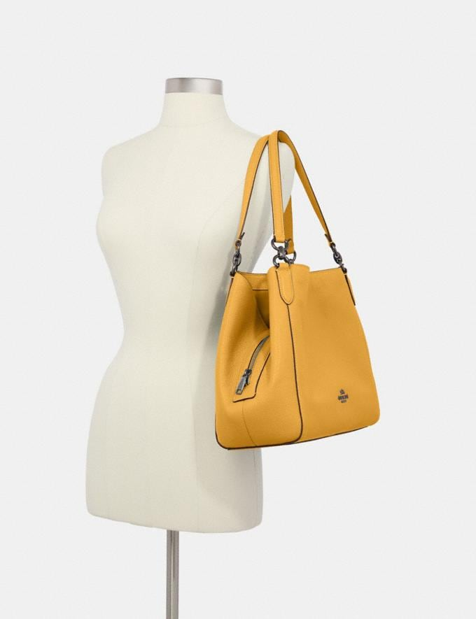Coach Hallie Shoulder Bag Qb/Honey What's New Alternate View 2
