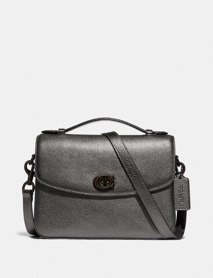 Coach Cassie Crossbody Pewter/Metallic Graphite Cyber Monday