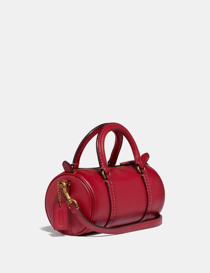 Coach Mini Barrel Bag B4/Red Apple SALE For Her Wallets & Wristlets Alternate View 1