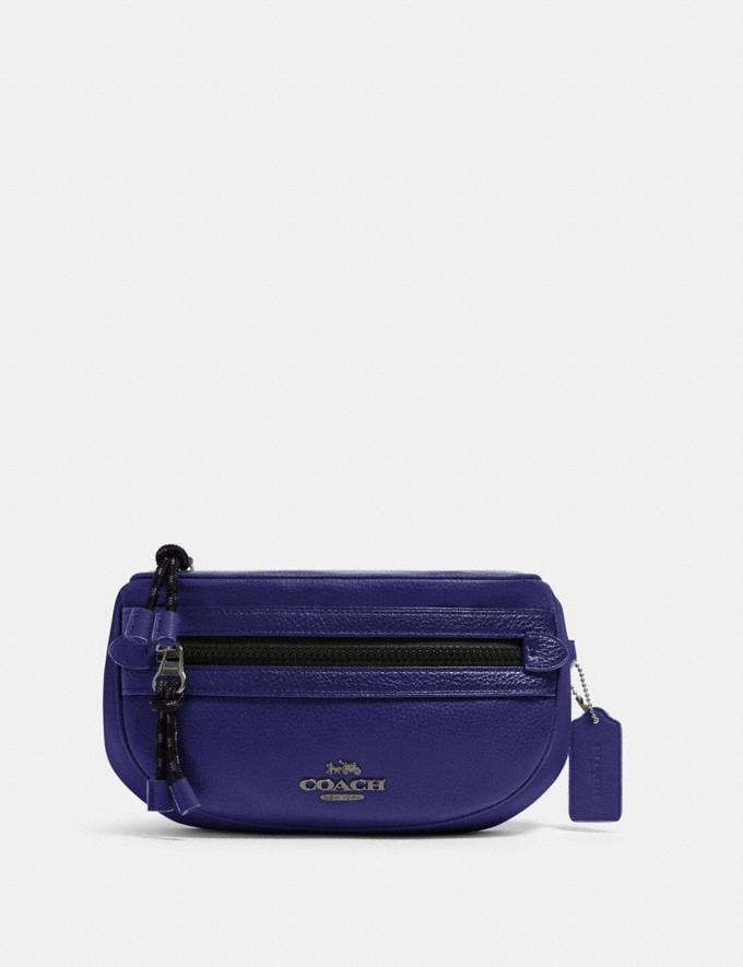 Coach Vale Belt Bag Sv/Grape Women Bags