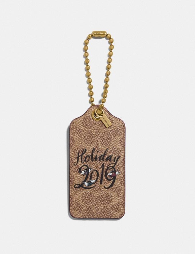 Coach Holiday 2019 Hangtag Khaki New Women's New Arrivals Accessories