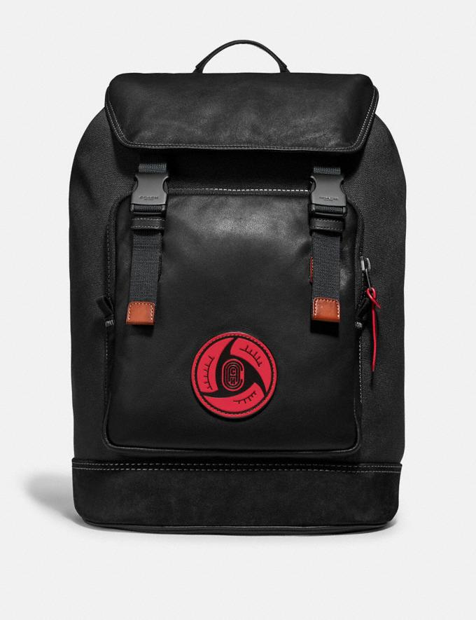 Coach Coach X Michael B. Jordan Backpack Black Copper/Black New Men's New Arrivals Collection