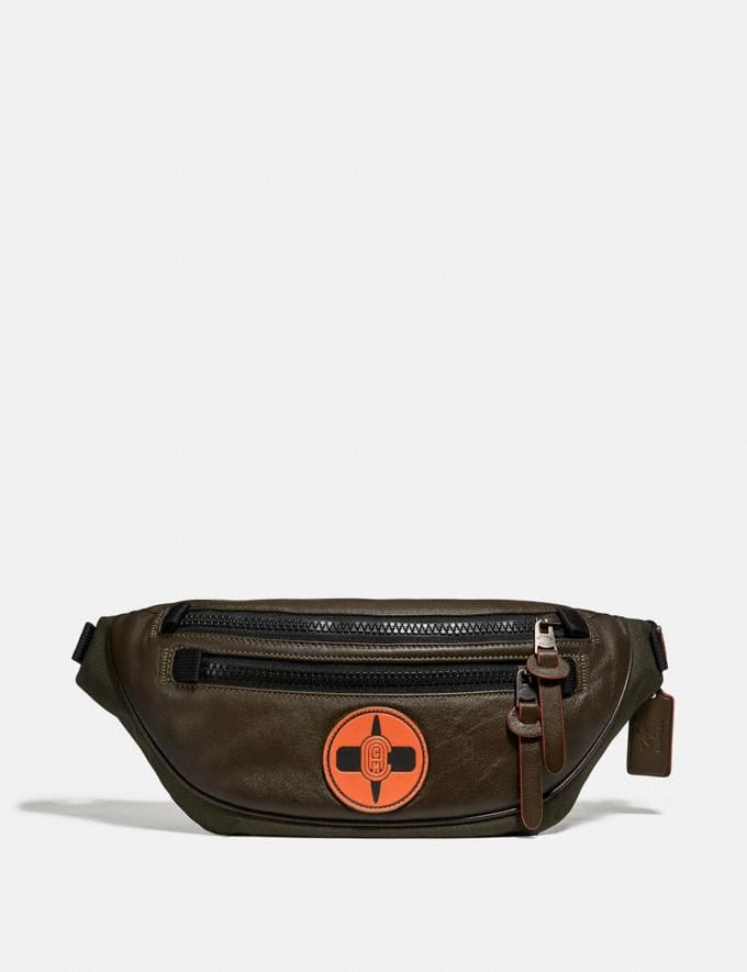 Coach Coach X Michael B. Jordan Belt Bag Black Copper/Ninjutsu Military Green New Men's New Arrivals Collection