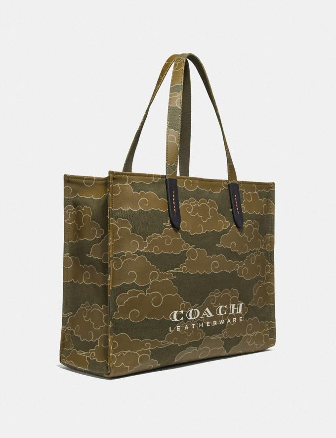 Coach Coach X Michael B. Jordan Tote 42 Black Copper/Ninjutsu Military Green New Featured Coach X Michael B. Jordan Alternate View 1