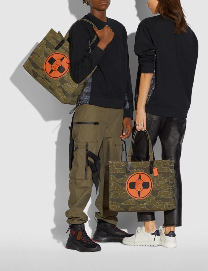 Coach Coach X Michael B. Jordan Tote 42 Black Copper/Ninjutsu Military Green New Featured Coach X Michael B. Jordan Alternate View 3