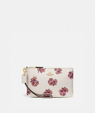 SMALL WRISTLET WITH FLORAL PRINT