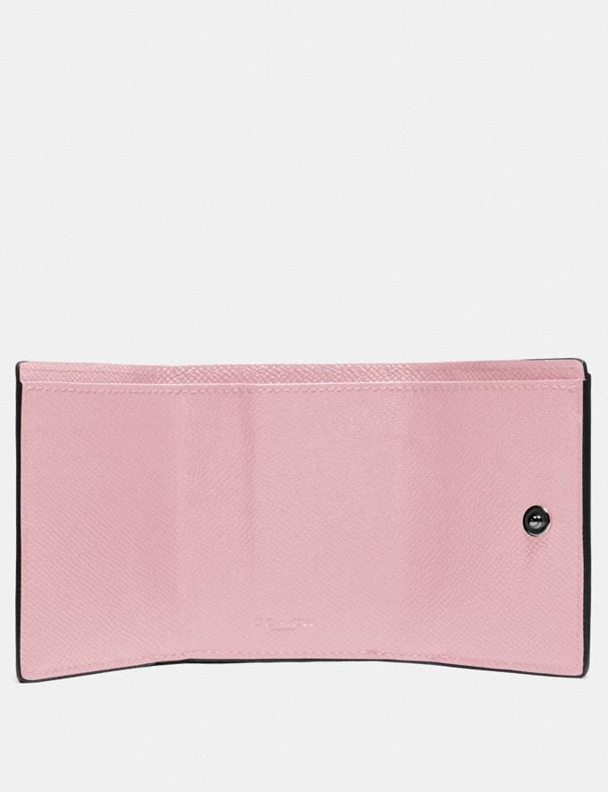 Coach Mini Trifold Wallet V5/Aurora New Women's New Arrivals Alternate View 1
