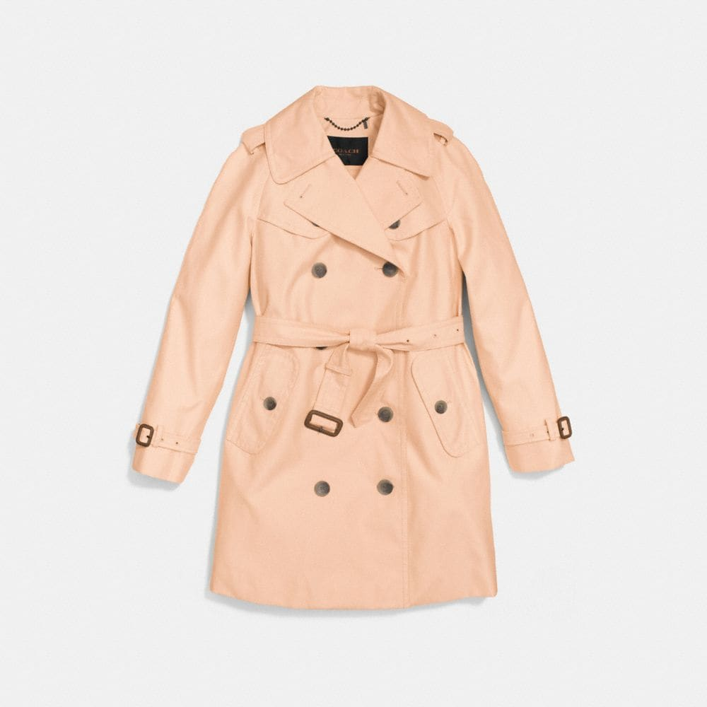 Coach Mid Length Trench