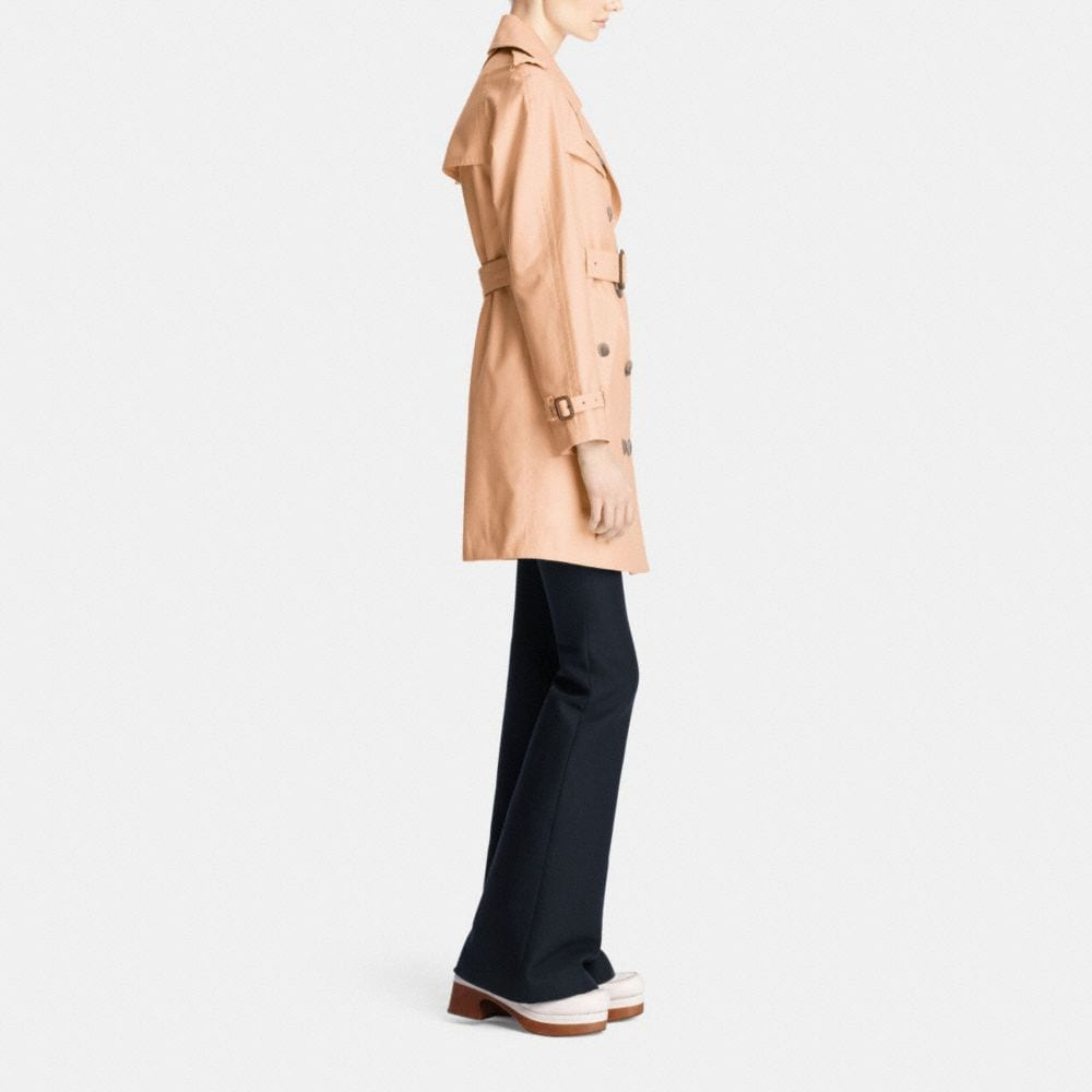 Coach Mid Length Trench Alternate View 2