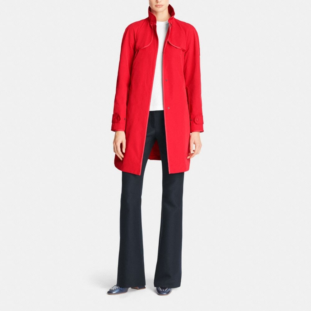 Sporty Topper Trench - Alternate View M