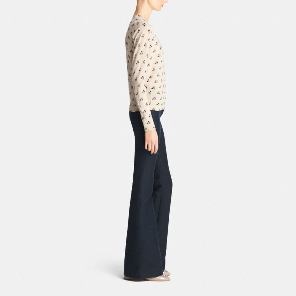 Bramble Rose Merino Crewneck Sweater - Autres affichages M2