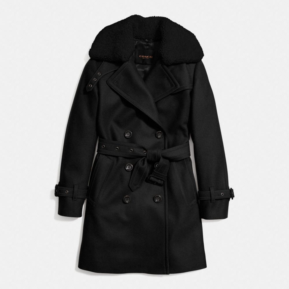 ICON WOOL TRENCH