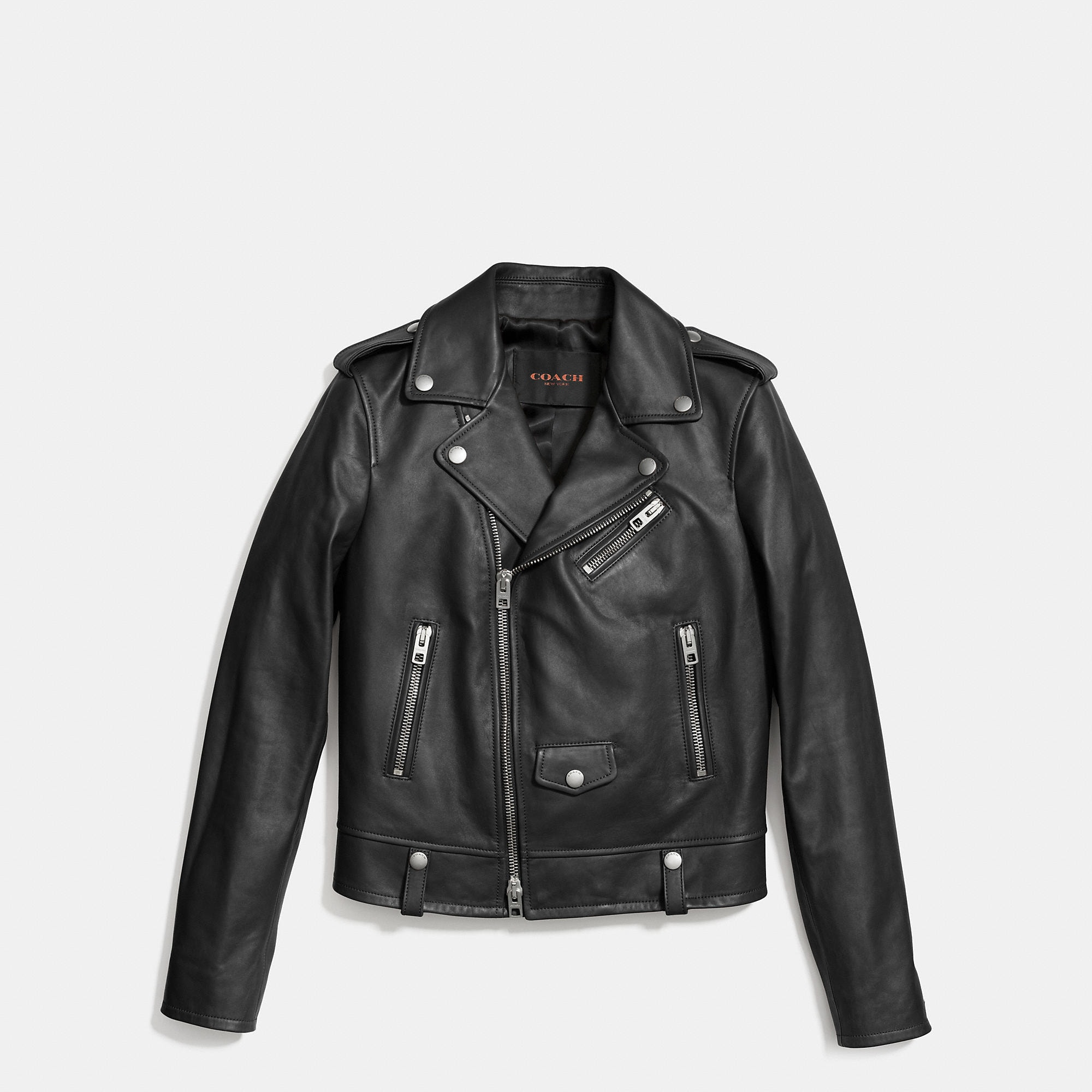 Coach Icon Moto Jacket