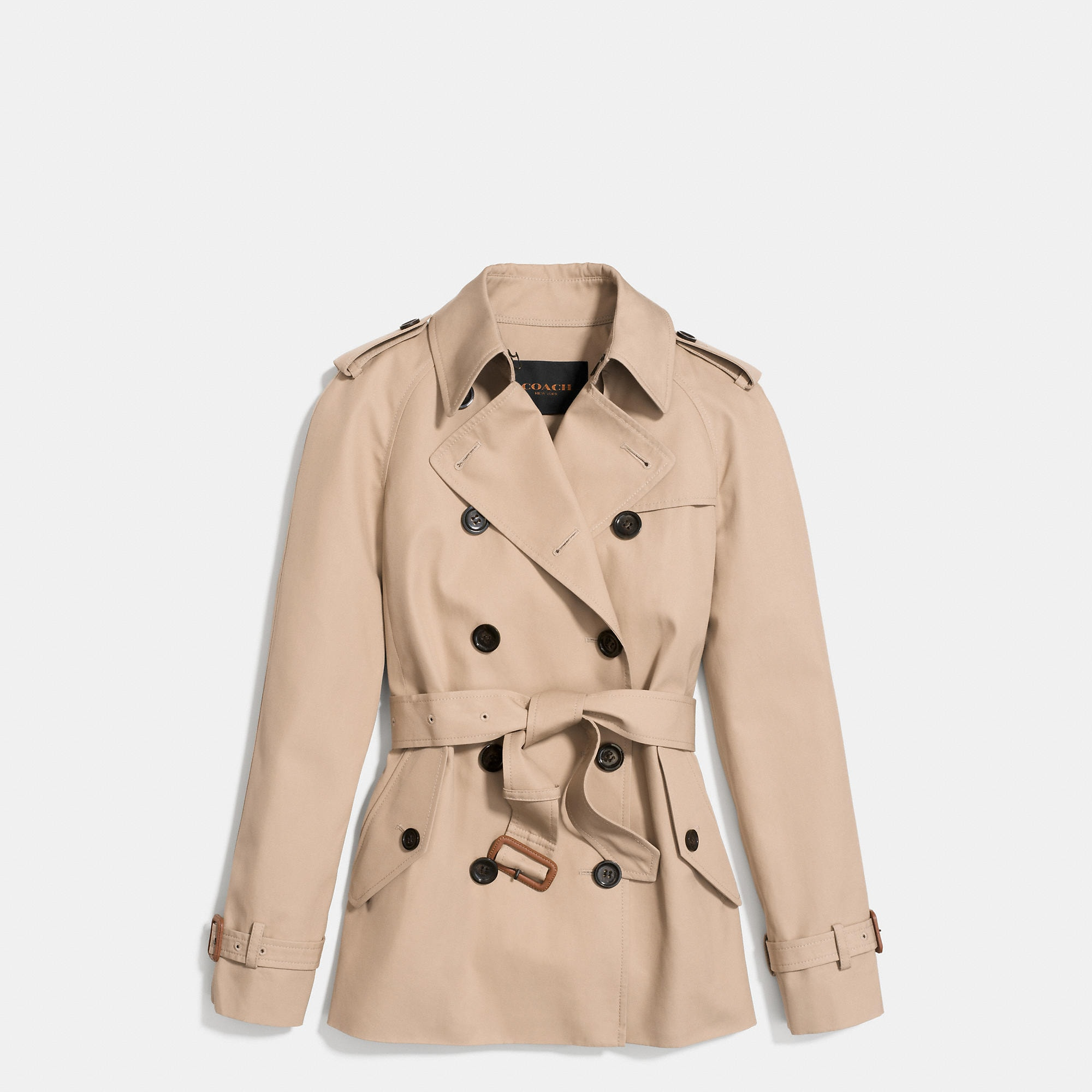 Coach Modern Short Trench